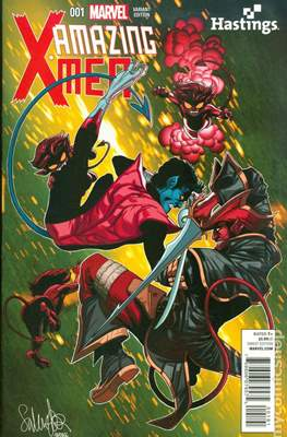 Amazing X-Men Vol. 2 (Variant Covers) #1.1