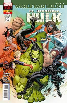 El Increíble Hulk Vol. 2 / Indestructible Hulk / El Alucinante Hulk / El Inmortal Hulk (2012-) (Comic Book) #75