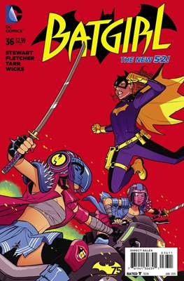 Batgirl Vol. 4 (2011-2016) (Comic-Book) #36