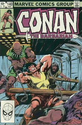 Conan The Barbarian (1970-1993) (Comic Book 32 pp) #140