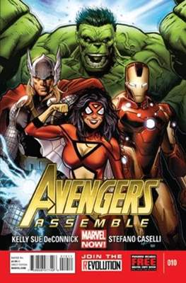Avengers Assemble Vol. 2 (2012-2014) #10