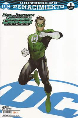 Green Lantern. Nuevo Universo DC. Portadas alternativas
