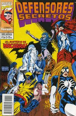 Defensores Secretos (1994-1995) (Grapa. 17x26. 24 páginas. Color.) #3