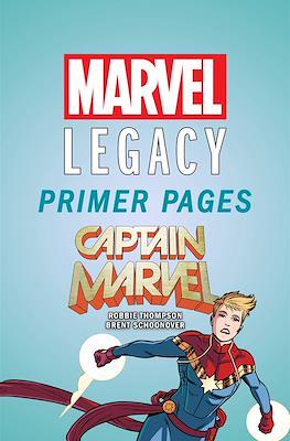 Captain Marvel: Marvel Legacy Primer Pages