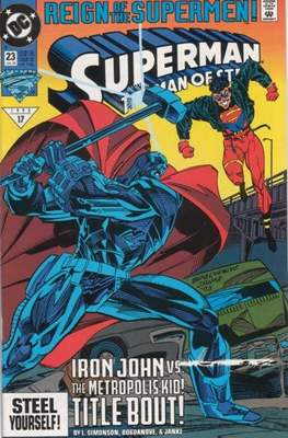 Superman: The Man of Steel (Comic book) #23