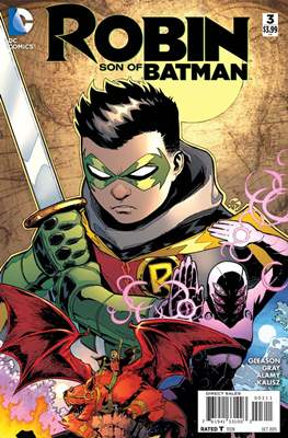 Robin Son of Batman (2015-2016) (Comic book) #3