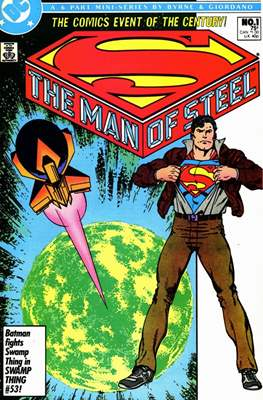 The Man of Steel (Comic-book) #1.1