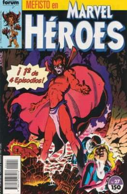 Marvel Héroes (1986-1993) (Grapa 32 pp) #27