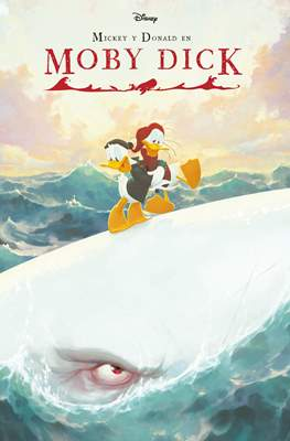 Mickey y Donald en Moby Dick