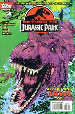 Return To Jurassic Park (Comic Book) #3