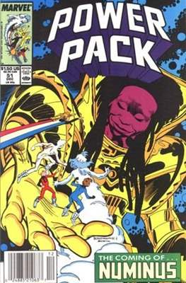 Power Pack (1984-1991; 2017) (Grapa) #51