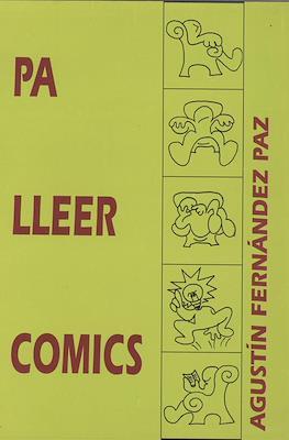 Pa lleer cómics