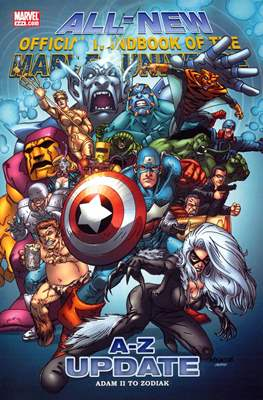 All-New Official Handbook of the Marvel Universe Update #2