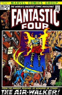 Fantastic Four Vol. 1 (1961-1996) (saddle-stitched) #120