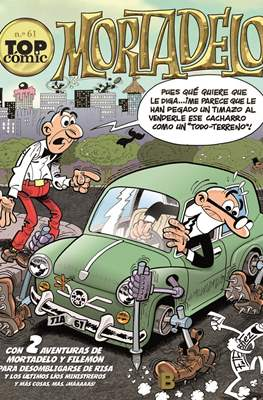 Mortadelo. Top Cómic (Rústica) #61