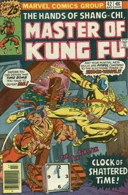 Master of Kung Fu (Comic Book. 1974 - 1983. Continued from Special Marvel Edition #16) #42