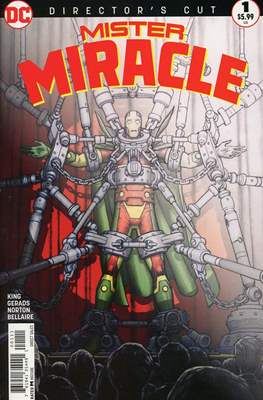 Mister Miracle (Vol. 4 2017- Variant Covers) (Comic Book) #1