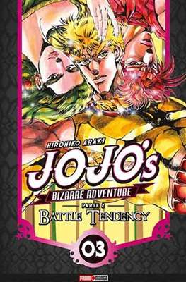 JoJo's Bizarre Adventure Parte 2 Battle Tendency (Rústica con solapas) #3