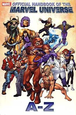 Official Handbook of the Marvel Universe A-Z #6