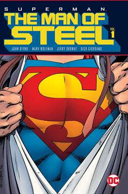 Superman The Man of Steel (Hardcover 480 pp) #1