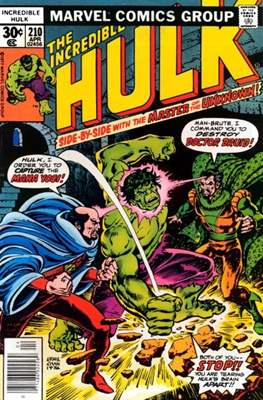 The Incredible Hulk Vol. 1 (1962-1999) (Comic Book) #210
