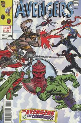 The Avengers Vol. 7 (2016-...Variant Covers ) (Grapa) #672.5