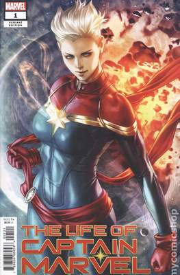 The Life of Captain Marvel (Variant Covers)