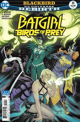 Batgirl and the Birds of Prey (2016-2018) (Comic Book) #10