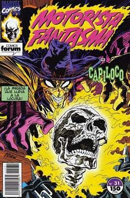 Motorista Fantasma (1991-1994) (Grapa. 17x26. 24 páginas. Color. (1991-1994).) #31