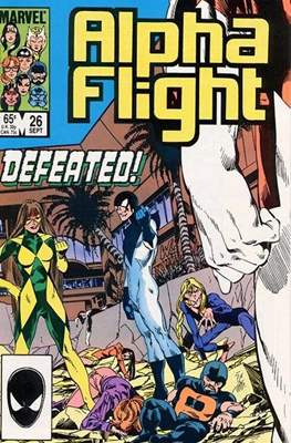 Alpha Flight Vol. 1 (1983-1994) (Comic Book) #26