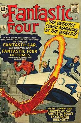 Fantastic Four Vol. 1 (1961-1996) #3