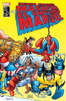 Sergio Aragonés masacra el universo Marvel (Cartoné 56 pp)