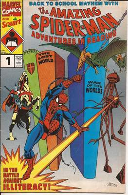 Adventures in Reading Starring: The Amazing Spider-Man