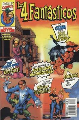 Los 4 Fantásticos Vol. 3 (1998-2001). Heroes Return #33