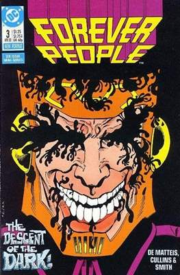 Forever People Vol 2: (1988) (Comic-book.) #3