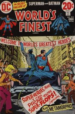 World's Finest Comics (1941-1986) (Comic Book) #218