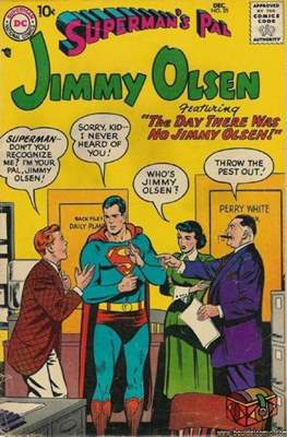 Superman's Pal, Jimmy Olsen / The Superman Family (Comic Book) #25