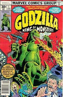 Godzilla King of the Monsters (Grapa) #1