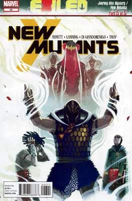 New Mutants Vol. 3 (Comic Book) #43