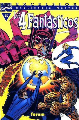Biblioteca Marvel: Los 4 Fantásticos (1999-2001) (Rústica 160 pp) #25