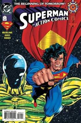 Action Comics Vol. 1 (1938-2011; 2016-) (Comic Book) #0