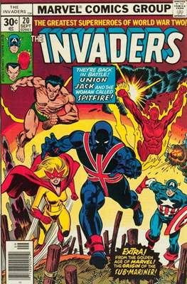 The Invaders (Comic Book. 1975 - 1979) #20
