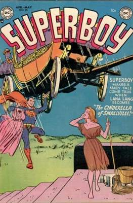 Superboy Vol.1 / Superboy and the Legion of Super-Heroes (Comic Book) #25