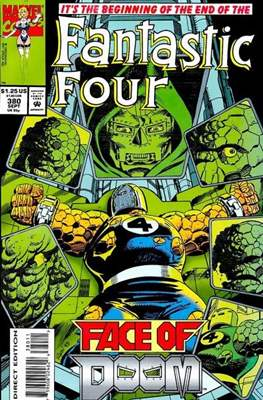 Fantastic Four Vol. 1 (1961-1996) (saddle-stitched) #380
