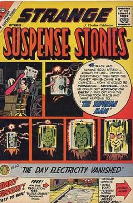 Strange Suspense Stories Vol. 2 #43
