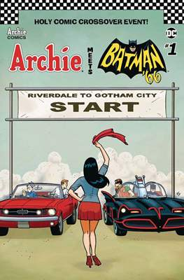 Archie Meets Batman '66 (Variant Covers)