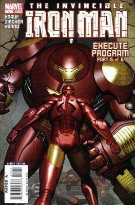 Iron Man Vol. 4 (2005-2009) (Comic Book) #12