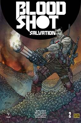 Bloodshot Salvation (Variant Covers) (Comic Book) #2