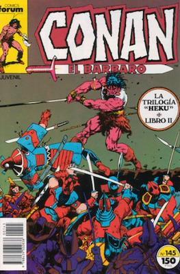 Conan el Bárbaro (1983-1994) (Grapa 24-36 pp) #145