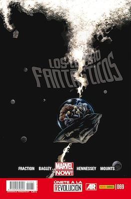 Los 4 Fantásticos / Los Cuatro Fantásticos Vol. 7 (2008-) (Grapa 24-48 pp) #69